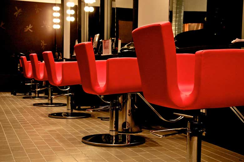 red-salon-chairs