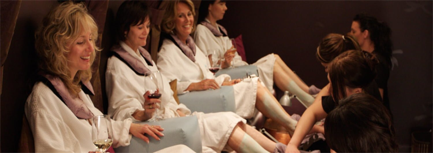 Pedicure spa party