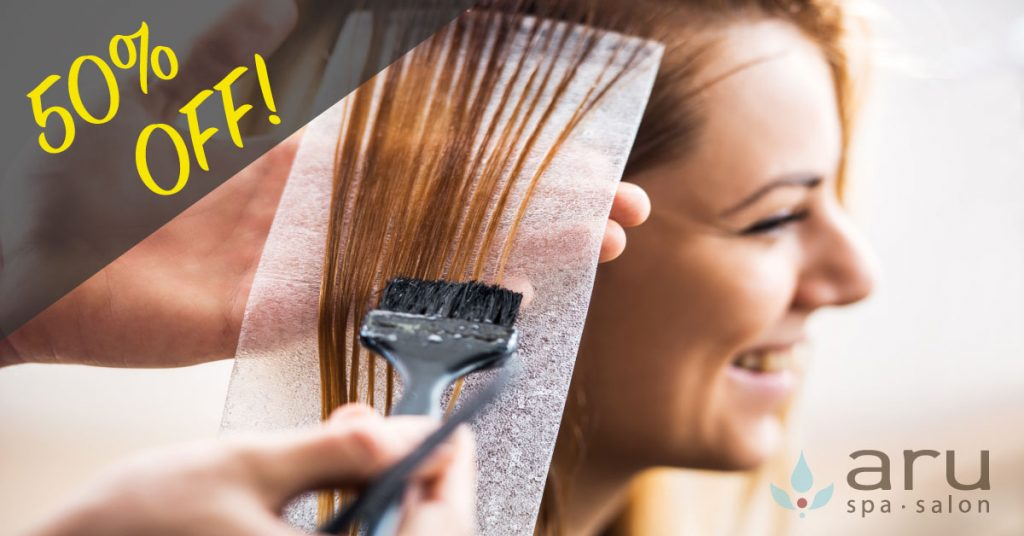 Hair Salon Special for New Clients.