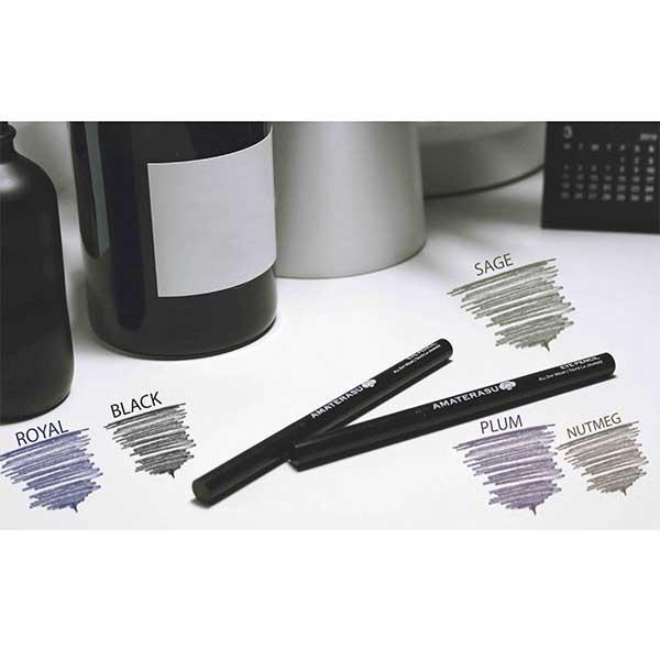 Amaterasu-Vegan-Smudgeproof-Eye-Pencil-Swatches