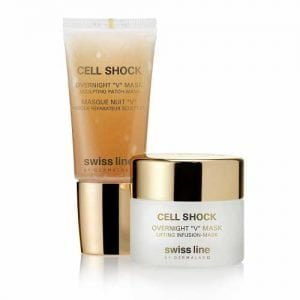 "Swissline - Cell Shock - Overnight ""V"" Mask 30+35 ml"